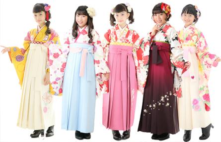豊富な袴デザイン