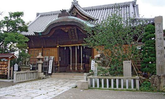 明石市:柿本神社の写真