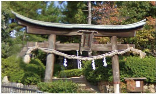 東灘区:森稲荷神社の写真