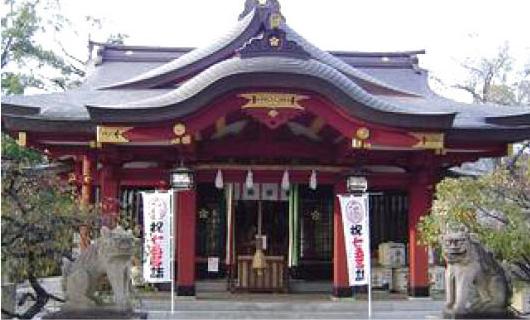 東灘区:綱敷天満神社の写真