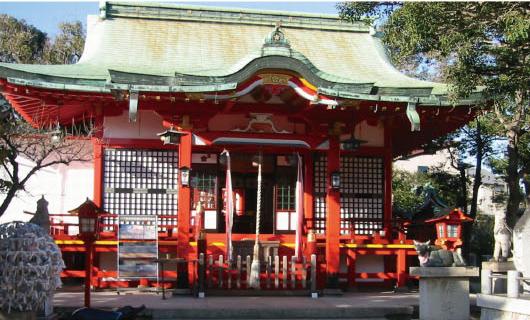 須磨:綱敷天満宮の写真